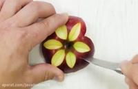 چند ترفند برای راحت تر خوردن میوه ها و تزئین
