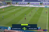 خلاصه مسابقه فوتبال استراسبورگ 1 - پاری سن ژرمن 4