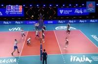 خلاصه بازی والیبال روسیه - لهستان