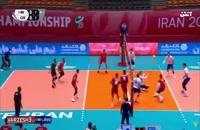 والیبال ایران - چک (زیر 19سال)