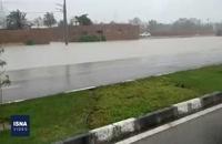 وضعیت برخی مناطق استان هرمزگان بعد از بارش اخیر