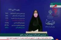 جدیدترین آمار کرونا در ایران - 27 مهر 99