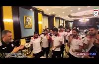 جشن تولد سامان قدوس و دراگان اسکوچیچ در اردوی تیم ملی