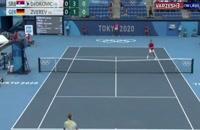 نیمه نهایی تنیس المپیک/ زورف 2-1 جوکوویچ