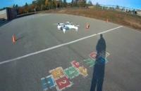 پرواز کوادکوپتر دوربین دار SYMA W1/ایستگاه پرواز