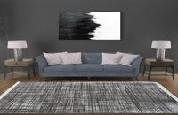 فرش وینتیج طوسی طرح الیزه – دیجی دکوری