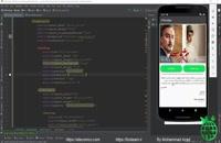 جلسه 13 - آموزش ساخت اپلیکیشن اندروید فیلیمو | سایت برنامه نویسی اندروید الکامکو