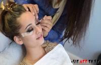 فیلم آموزش میکاپ عروس مدل خلیجی