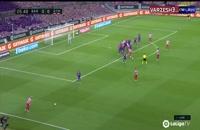 خلاصه بازی تیم های بارسلونا 2 - اتلتیکومادرید 2