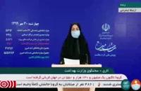 جدیدترین آمار کرونا در ایران - 30 مهر 99