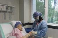 بهبودی مادر ۹۲ ساله مبتلا به کرونا