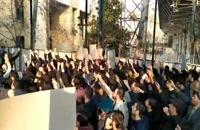 تجمع دانشجویان و اعتراض به سو استفاده گران از حادثه هواپیمایی