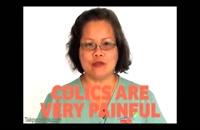 آموزش ماساژ برای درمان کولیک نوزادان