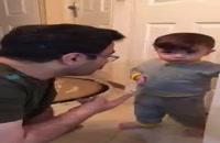 ویدیو پربازدید از حرف زدن جالب یک کودک!