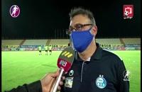 مصاحبه با پزشکان تیم های فوتبال