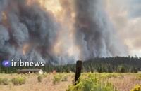 تخلیه مناطق گستردهای از کالیفرنیا به سبب آتشسوزی