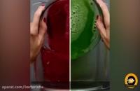 طرز تهیه ژله خرده شیشه با شیر