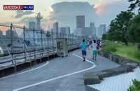 ویدیو تمرین فرنگی کاران ایرانی در دهکده بازی های المپیک توکیو
