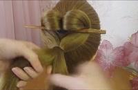 آموزش مدل مو پروانه ای