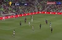 خلاصه بازی فوتبال آمریکا - قطر (نیمه نهایی کونکاکاف)