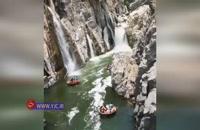 آبشاری شگفت انگیز و دیدنی در هند