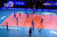 خلاصه بازی والیبال روسیه - ایتالیا