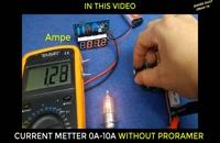 ولتاژ و امپر متر بدون برنامه ریزی