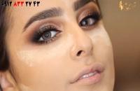 فیلم آموزش کامل میکاپ چشم + مدل آرایش صورت