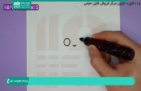 آموزش نقاشی به کودکان - نقاشی پرنسس