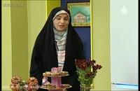 آموزش تهیه دونات با سس میوه خانم احمدی به خانه برمی گردیم  97-03-28