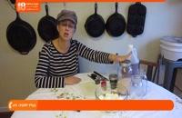 آموزش درست کردن ترشی (ترشی تخم مرغ با فلفل و سیر)