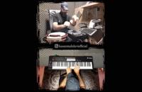 اجرای آهنگ کردی Slow توسط حسن مهدوی با پرکاشن دیجیتال
