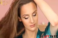 کلیپ آموزش درخشان سازی مو + نرم کردن مو خشک