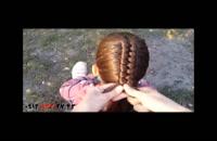 فیلم آموزش بافت مو لوله ای + مدل زیبا مو