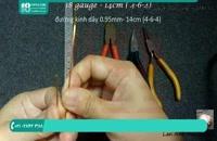 آموزش ساخت انگشتر با سیم مسی