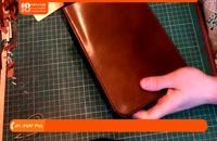 آموزش چرم دوزی - آموزش ساخت کیف گوشی برای انواع مدل ها