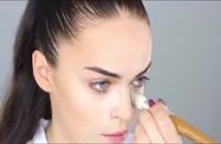 آموزش آرایش روزانه صورت