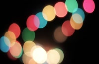 ویدیو فوتیج بوکه های رنگارنگ 24