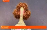 دوخت عروسک تیلدا - آرایش عروسک تیلدا