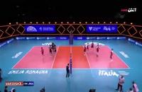 خلاصه بازی والیبال ژاپن - لهستان