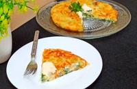 طرز تهیه سیب زمینی و تخم مرغ به همراه پنیر