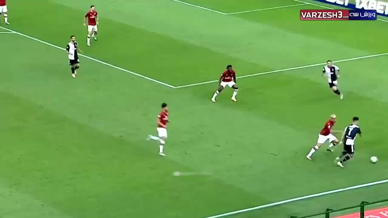 عملکرد کریستیانو رونالدو در برابر تیم آث میلان
