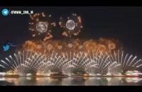 آتش بازی افتتاحیه المپیک بدون برگزاری المپیک