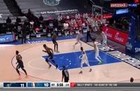 خلاصه بازی بسکتبال دالاس ماوریکس - یوتا جاز