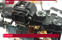تعویض صحیح کلیه قطعات روی بورد دوربین با هیتر