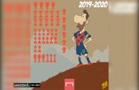 افتخارات لیونل مسی در تیم بارسلونا