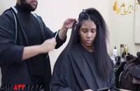 فیلم آموزش صاف کردن مو مجعد و خشک + نرمال سازی مو