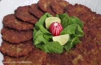 طرز تهیه کتلت گوشت - آسان و خوشمزه