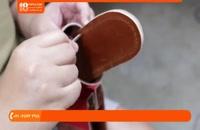 آموزش چرم دوزی - آموزش ساخت صندل چرم