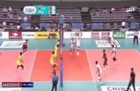 خلاصه والیبال چین 1 - ایران 3